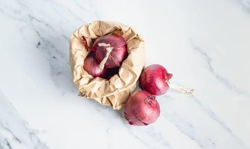 Organic Onions, Red- Code#: PR100183NPO