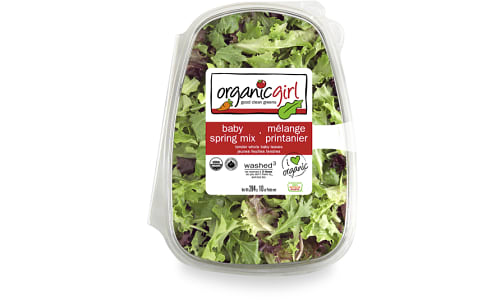 Organic Lettuce, Spring Mix - Large - Brands may vary- Code#: PR210168NCO