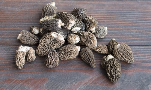 Local Mushrooms, Morels - Wildcrafted- Code#: PR210416LPN