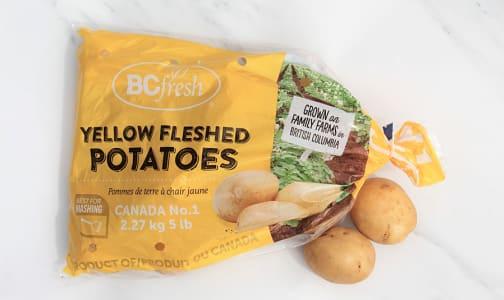 Local Potatoes, Yellow 5lb BC Fresh- Code#: PR217238LCN