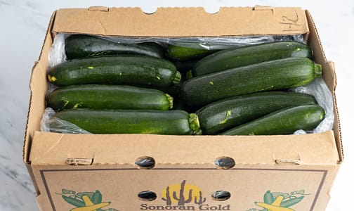 Organic Zucchini, Case- Code#: PR216969NCO