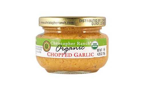Organic Chopped Garlic- Code#: BU0784