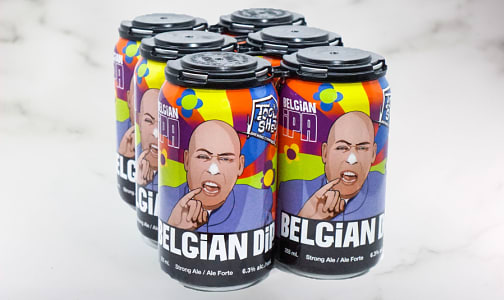 Belgian Dip IPA - Cans - 6.3%- Code#: DR1935