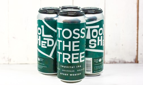 Toss The Tree IPA- Cans - 8.8%- Code#: DR1937
