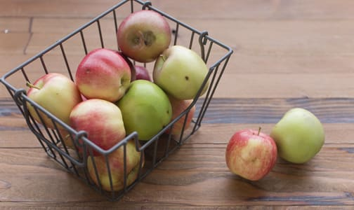 Local Organic Apples, Imperfect - Mixed Apples- Code#: PR202168LPO