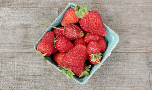 Organic Strawberries, Local - Island Grown!- Code#: PR202123LCO