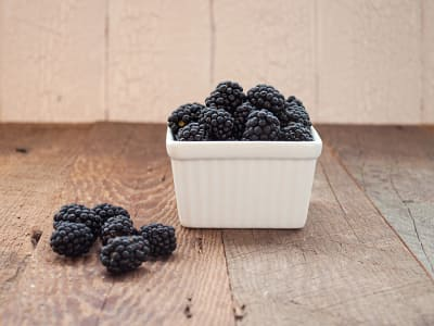 Local Organic Blackberries - Pints!- Code#: PR100403LCO