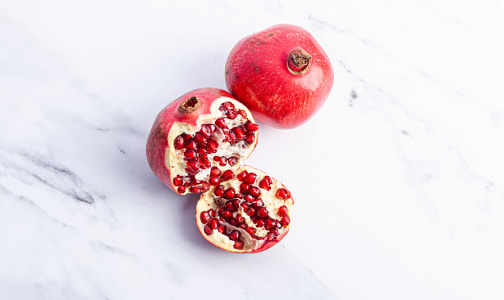 Organic Pomegranates - Some external scarring- Code#: PR100227NCO