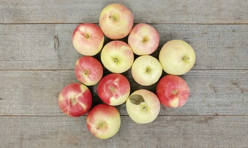 Local Organic Apples, Bagged Sunrise - BC Grown!- Code#: PR202238LPO