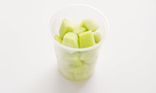 Organic Melons, Honeydew, Chunks, Fresh Cut Large- Code#: PR217074NCO