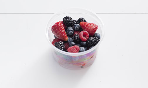 Organic Mixed Berry Cup- Code#: PR217070NCO