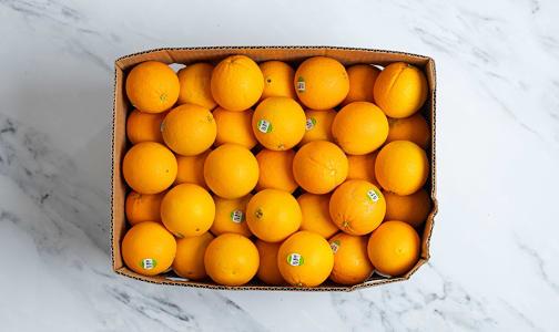Organic Oranges, Navel - Case- Code#: PR217206NCO