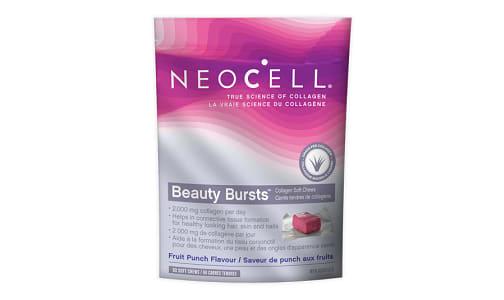 Beauty Bursts Collagen Soft Chews - Fruit Punch- Code#: VT1134