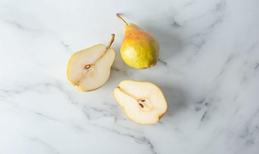Local Organic Pears, Bartlett - BC Grown- Code#: PR100206LCO