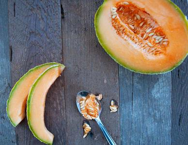 Organic Cantaloupe - CA/MEX- Code#: PR100059NCO