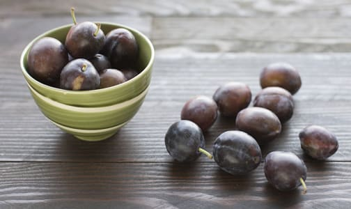 Local Organic Plums, Italian Prune- Code#: PR100226LPO