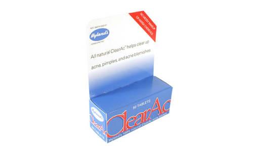 Clear Ac- Code#: VT0475