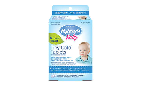 Baby Tiny Cold Homeopathic Tablets- Code#: VT0465