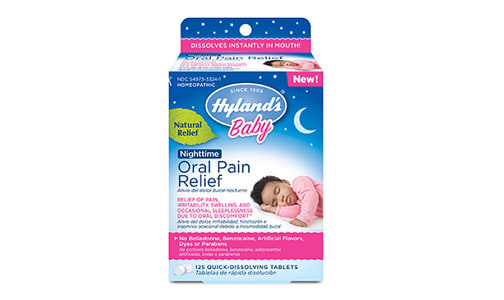 Baby Oral Pain Relief Nighttime Homeopathic- Code#: VT0464