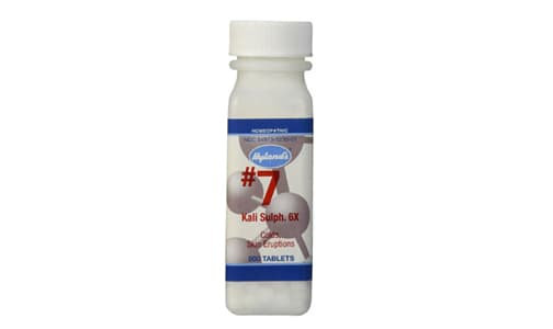 #7 Kali Sulphuricum  6X Cell Salts- Code#: VT0416