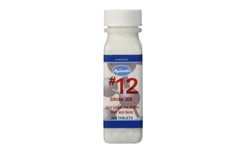 #12 Silicea 6X Cell Salts- Code#: VT0426