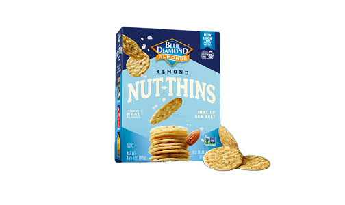 Almond Nut Thins, Hint of Salt- Code#: SN2114