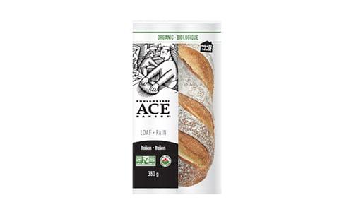 Organic Italian Loaf (Frozen)- Code#: BR0526
