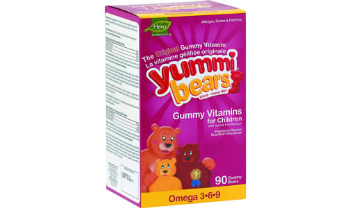 Organic Yummi Bears - Omega 3-6-9- Code#: VT0254