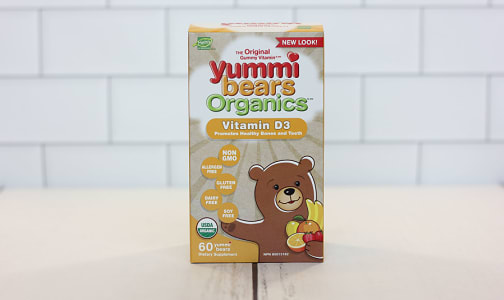 Organic Yummi Bears - Vitamin D3- Code#: VT0261