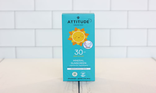 Mineral Sunscreen SPF 30 Baby & Kids - Fragrance Free- Code#: PC3401
