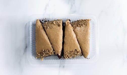 4Pk Keto Chocolate Salty Caramel Cake (Frozen)- Code#: DE0171