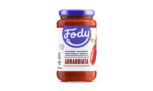 Premium Arrabbiata Sauce- Code#: SA0394