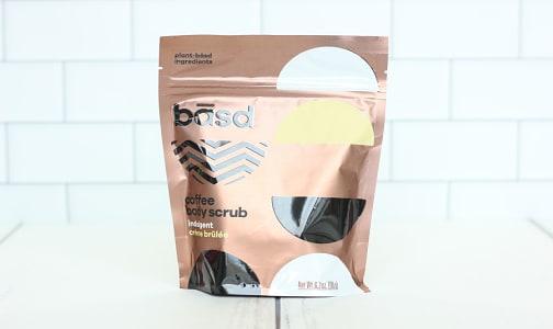 Organic Indulgent Crème Brulee Body Scrub- Code#: PC2080