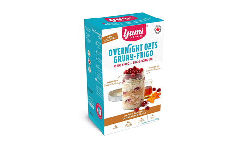 Organic Maple Cranberry Overnight Oats- Code#: CE0039
