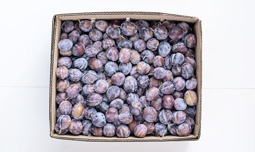 Organic Plums, Italian - Case - BC- Code#: PR147854NCO