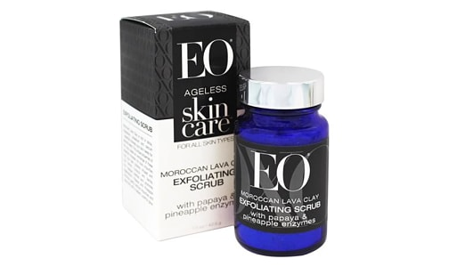 Ageless Skin Care - Moroccan Lava Clay Exfoliating Scrub- Code#: PC3704