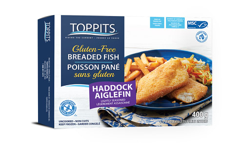 MSC Lightly Seasoned Haddock Portion (Frozen)- Code#: MP1179