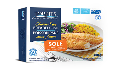 MSC Savoury Lemon Sole Fillet (Frozen)- Code#: MP1178