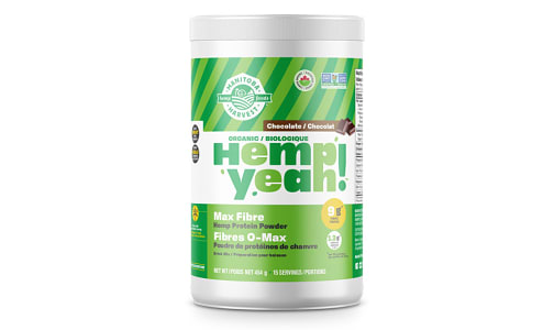 Hemp Yeah! Max Fiber Hemp Protein Powder - Chocolate- Code#: PC4216