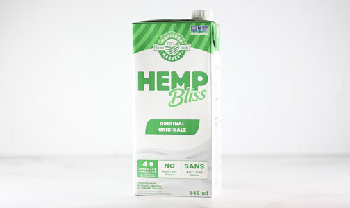 Organic Hemp Bliss - Original- Code#: DR1944