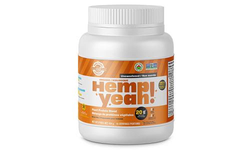 Organic Hemp Yeah! Hemp Protein Blend - Unsweetened- Code#: PC4221