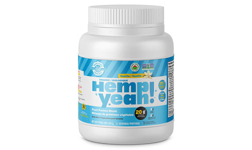 Organic Hemp Yeah! Hemp Protein Blend - Vanilla- Code#: PC4220