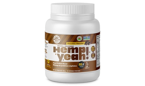 Organic Hemp Yeah! Hemp Protein Blend - Chocolate 