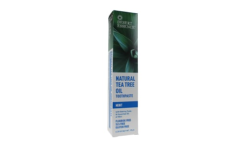 Tea Tree Oil Toothpaste - Mint- Code#: PC3288