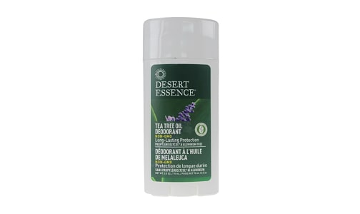 Tea Tree Stick Deodorant with Lavender Oil- Code#: PC3301