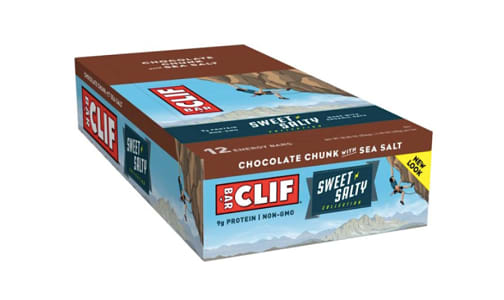 Organic CASE Chocolate Chunk with Sea Salt- Code#: SN1753-CS
