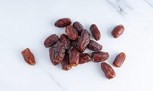 Organic Dates, Medjool, 8 oz- Code#: PR153006NPO