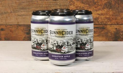 Saskatoon Apple Cider, Cans- Code#: DR1399