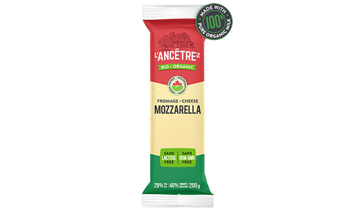Organic Mozzarella 28% MF- Code#: DC0011
