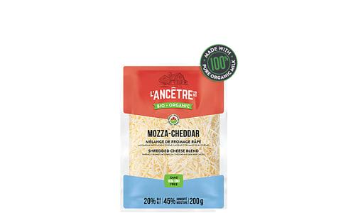 Organic Shred Mozza Cheddar Blend- Code#: DC0012